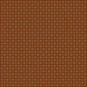 Floral Dot orange and rust © 2012 by Jane Walker