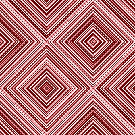 diagonal stripe_carlos_ claret, white, pink fabric by anino on Spoonflower - custom fabric
