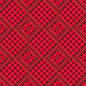 Playful Plaid Red/Black
