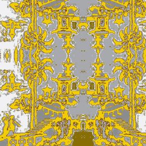 Escher pagoda citrine
