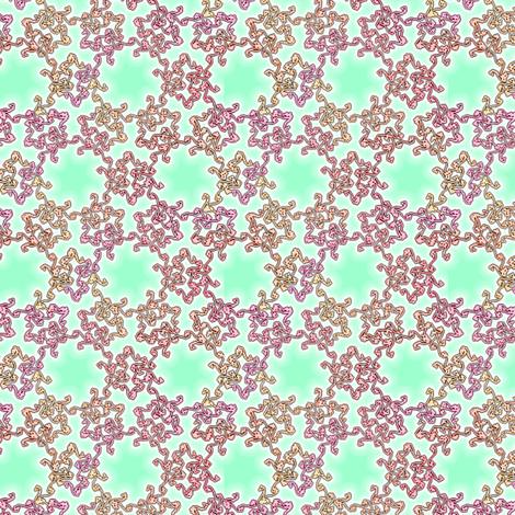 swirls from scratch - climbing rose fabric by weavingmajor on Spoonflower - custom fabric