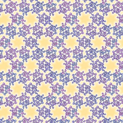swirls from scratch - honeysuckle fabric by weavingmajor on Spoonflower - custom fabric