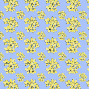 Yellow Blooms (Violets Colourway)