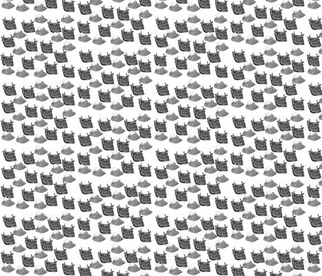 typewriter_fabric fabric by lesliezemsky on Spoonflower - custom fabric