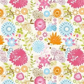 "aarde kids ""spring blossom"" pattern"