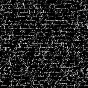 I Thought I'd Write To Juliet... Black & White