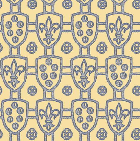 En Garde! fabric by peacoquettedesigns on Spoonflower - custom fabric