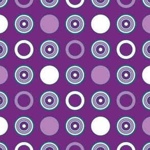 Grape Dots & Hoops