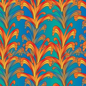 psychedelic swirls
