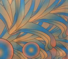 psychedelic Art Nouveau