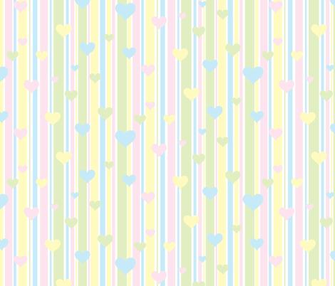 Pastel Stripes and Hearts wallpaper - galleryhakon ...