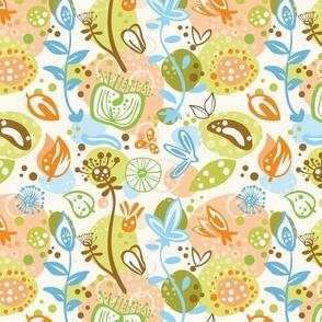 """aarde kids """"organic field"""" pattern"""