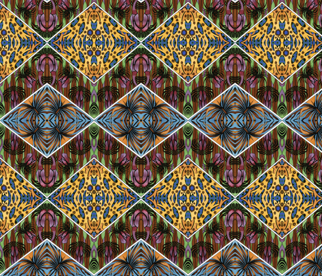 Angled Deco fabric by relative_of_otis on Spoonflower - custom fabric