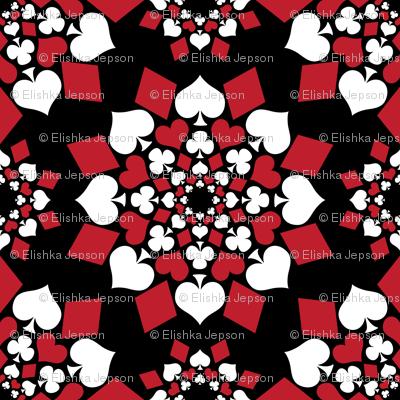 A Suit of Flowers (Black)
