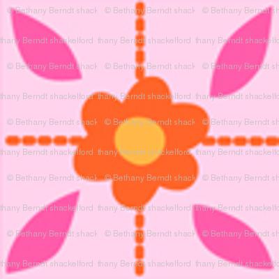 Zig Zag Pet Party flower grid 2