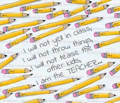 No. 2  I am the Teacher