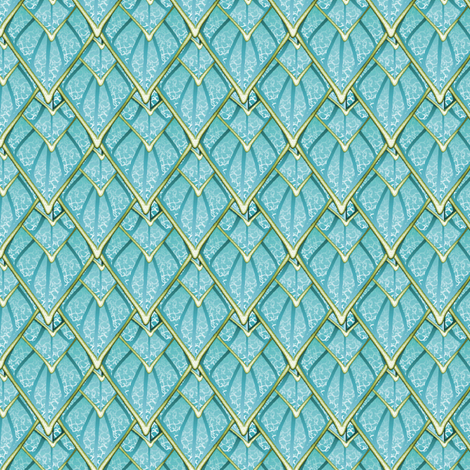 gauntlet scales 02 fabric by glimmericks on Spoonflower - custom fabric