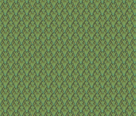 gauntlet scales 06 fabric by glimmericks on Spoonflower - custom fabric