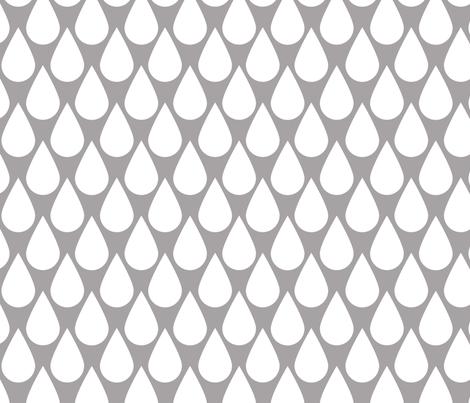 Rain linen fabric by natitys on Spoonflower - custom fabric