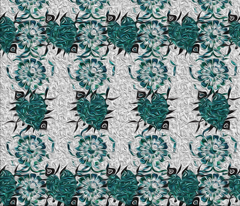 troubled waters fabric by cutelilbutterfly on Spoonflower - custom fabric