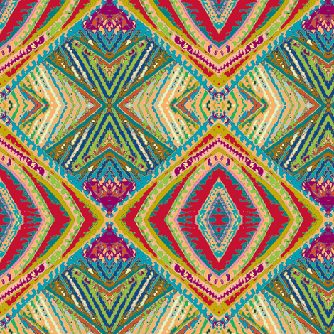 Under the Big Top fabric by susaninparis on Spoonflower - custom fabric