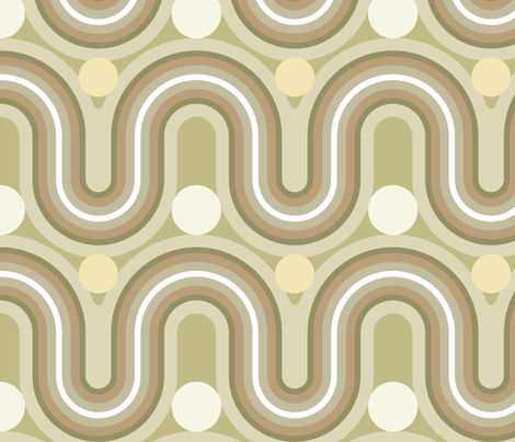 Groovy Baby 3 fabric by kittenstitches on Spoonflower - custom fabric