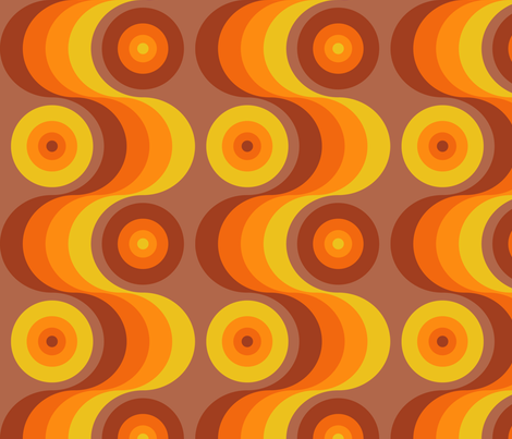 Groovy Baby! 8 fabric by kittenstitches on Spoonflower - custom fabric