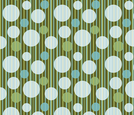 Swell hues, going Dotty 1 fabric by kittenstitches on Spoonflower - custom fabric