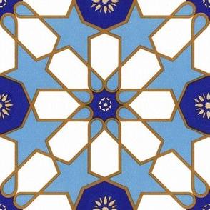 Tiles from Islamic Spain