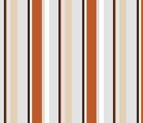 Hawaii Five-O Awesome Stripes fabric by kittenstitches on Spoonflower - custom fabric