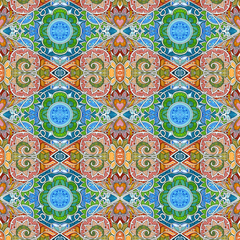Country Charms fabric by edsel2084 on Spoonflower - custom fabric