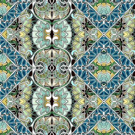Fancy Boxes fabric by edsel2084 on Spoonflower - custom fabric