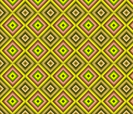 Green and Pink Squares fabric by galleryhakon on Spoonflower - custom fabric