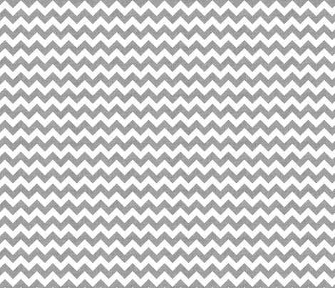 Gray linen chevrons fabric by spacefem on Spoonflower - custom fabric