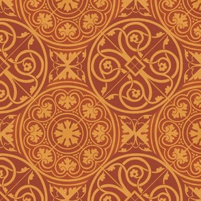 Traditional tile pattern