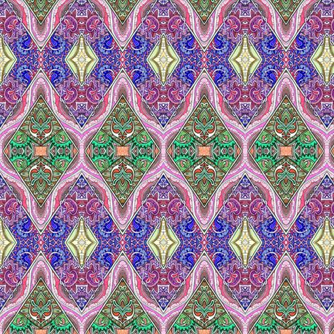 Shine On You Crazy Diamond (zig zag cheater quilt) fabric by edsel2084 on Spoonflower - custom fabric