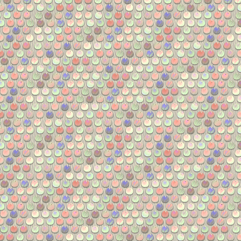 spangles mermaid coral sea fabric by glimmericks on Spoonflower - custom fabric