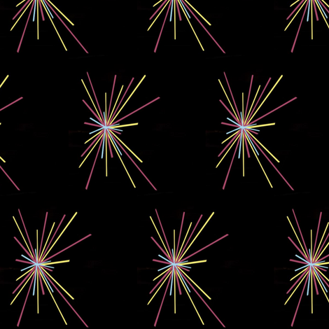 Baby You're A Firework. fabric by elle_concoit on Spoonflower - custom fabric