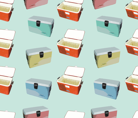 camp_coolers fabric by thedrawingroom on Spoonflower - custom fabric