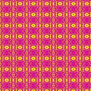 Split Pink Yellow