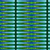 Stripe Like an Egyptian _____-cyan + lime