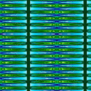 Stripe Like an Egyptian _____-cyan + lime