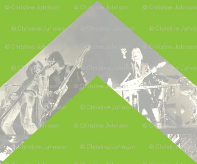 Chevron Rock Star / lime