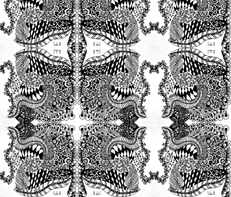 LOLA B. fabric by tinak on Spoonflower - custom fabric