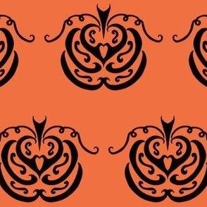 Tribal Pumpkin Patch (orange)