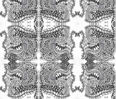 LOLA B.-ch fabric by tinak on Spoonflower - custom fabric