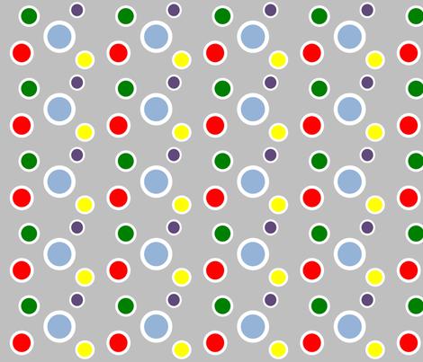 Preppy Dots (Multi) fabric by stitching_dvm on Spoonflower - custom fabric