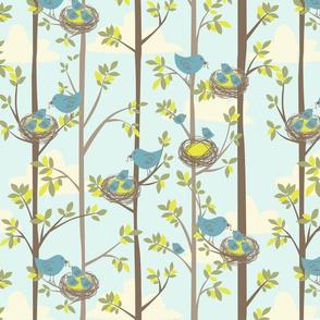 Nesting Trees