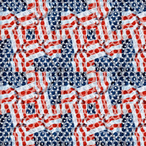 star_spangles fabric by glimmericks on Spoonflower - custom fabric