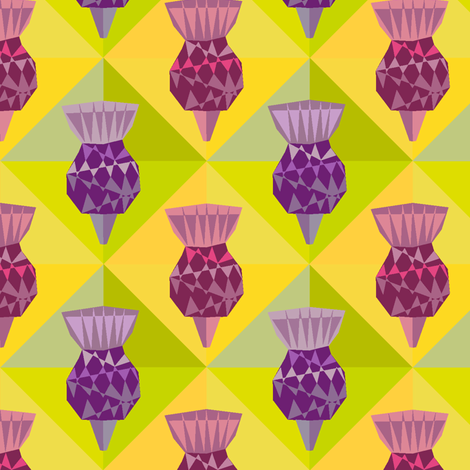 Thislte fabric by creative_cat on Spoonflower - custom fabric